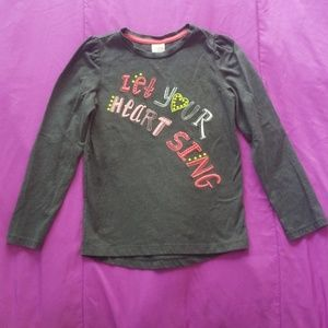 "Gymboree girls size 7 ""Let Your Heart Sing"""